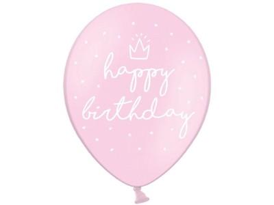 "Happy birthday pink, 12"""