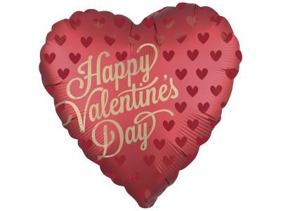 "Сердце сатин Valentine's day, 18"""