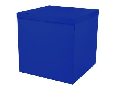 Коробка-сюрприз 70*70*70 см  Синяя