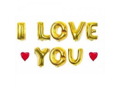 Гирлянда-надпись I love you