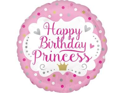 "Happy birthday princess, 18"""