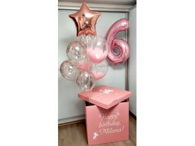 Коробка Розовая нежность