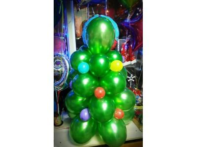 Ёлочка из шариков, высота 1 м