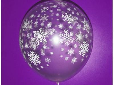 "Снежинки, кристалл, 18"" (45 см)"