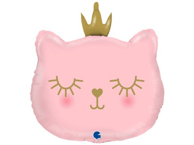 Кошечка в короне, 49*52