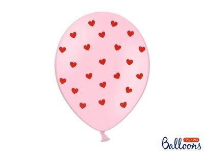 """Сердца на розовом, 12"""""""
