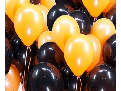 Черно-оранжевый микс